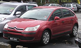 Citroen C4 (first generation) (front), Serdang.jpg