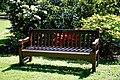 City of London Cemetery Memorial Gardens memorial bench seat 03.jpg