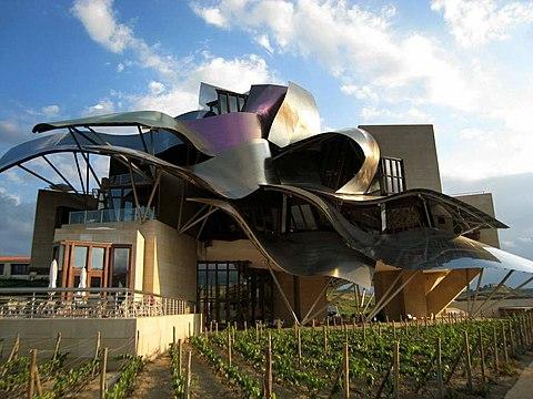 Ciudad del Vino Marques de Riscal