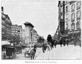 Clément Maurice Paris en plein air, BUC, 1897,146 Boulevard Bonne-Nouvelle. Devant la rue de la Lune.jpg