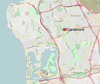 Clairemont, San Diego Community of San Diego in California
