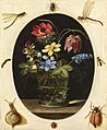 Clara Peeters - Still Life with Flowers in a Glass Vase Surrounded by Insects and a Snail 071L18033 9QMJJ.jpg
