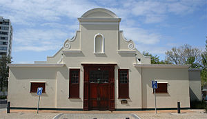 Claremont, Cape Town - The Cape Dutch style Claremont Civic Centre in 2010