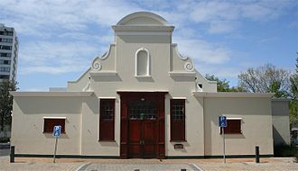 Claremont, Cape Town - The Cape Dutch style Claremont Civic Centre in 2010