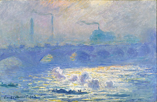 Claude Monet - Waterloo Bridge - Google Art Project