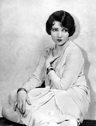 Claudette Colbert - Colbert in Broadway production, 1928