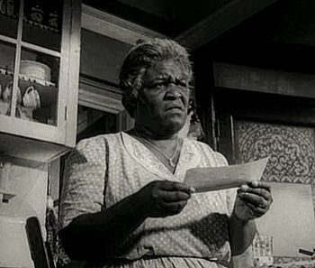 English: Claudia McNeil in A Raisin in the Sun...