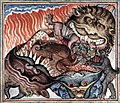 Cloisters Apocalypse - Dragon and the Beasts cast into Hell.jpg