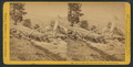 Clouds' Rest, (6,450 feet above Valley) from Cap of Liberty, by John P. Soule.png