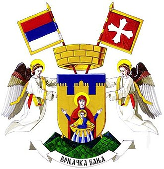 Vrnjačka Banja - Image: Coat of arms of Vrnjačka Banja