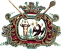 Coat of arms of Wallachia under Grigore II Ghica.png