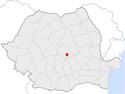 Codlea in Romania.png