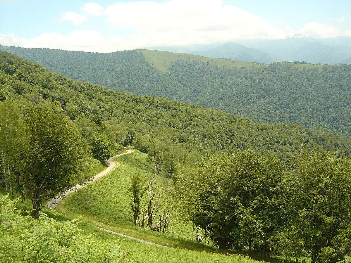 Col de Crouzette 09- pendiente sur- Ruta del último kilómetro.jpg