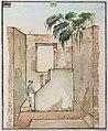 Collectie NMvWereldculturen, RV-1403-3650, Waterverfschildering- Tekening, Mr Adrianus Johannes Bik, voor 1872.jpg