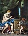Collection Motais de Narbonne - Vulcain forgeant les flèches de l'Amour (1644-1645) - Jacques Stella (40).jpg