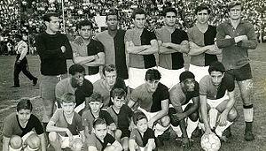 Club Atlético Colón - The 1965 team that won the Primera B title promoting to Primera División.