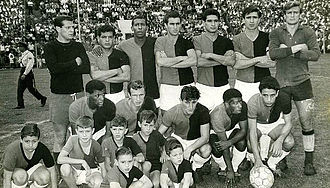 Club Atlético Colón - The 1965 team that won the Primera B title promoting to Primera División.