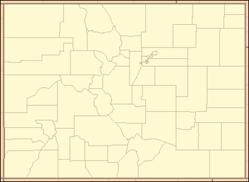 List of counties in Colorado
