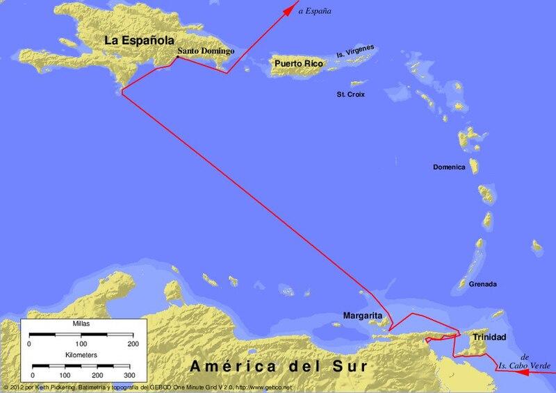 File columbus third voyage wikimedia commons for Cuarto kit del america