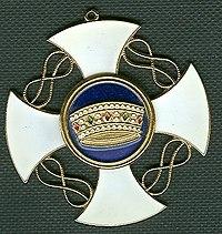 Commandeurskruis Orde van de Kroon van Italie.jpg