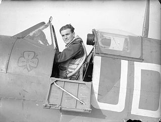 Paddy Finucane British RAF officer killed in action