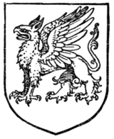Fig. 420.—Gryphon Statant.