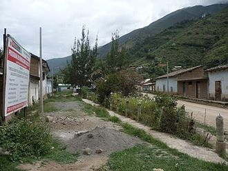 Ambo Province - The village of Quchachini