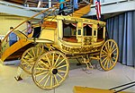 Concord Coach No. 206, Abbot-Downing Company Carriage Works, Concord, NH, c. 1867 - Collings Foundation - Massachusetts - DSC06792.jpg