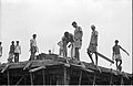 Concrete Roofing In Progress - Science City Site Office - Dhapa - Calcutta 1993-October 713.JPG