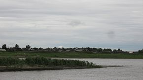 Confluence of Siberian rivers - the Ishim flows into the Irtysh.jpg