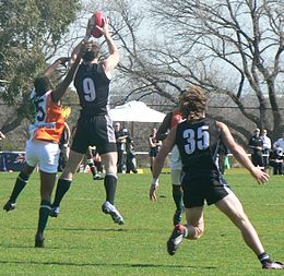 Congalton mark against india international cup 2008.jpg
