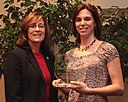 Conservation Award North Carolina Museum of Natural Sciences; accepted by Lynn Cross (5726672174).jpg