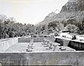Construction of new residences, Watchman Housing Area concrete footings, residences Building 40 and Building 41. ; ZION Museum (5a425cda41ea4e1f87b97c3074b8f2f1).jpg