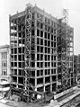 Construction of the Shafer Building, 515 Pine St, ca 1923 (SEATTLE 2448).jpg