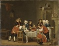 Convivial Scene in a Peasant's Cottage (Pehr Hilleström d.ä.) - Nationalmuseum - 17969.tif