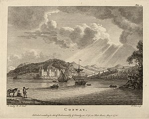 Conway, engraving by P. Sanby