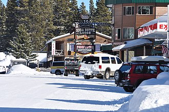 Cooke City-Silver Gate, Montana - Image: Cooke City MT January 2010