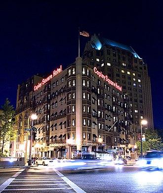 Copley Square Hotel - Front of the hotel, Huntington Avenue