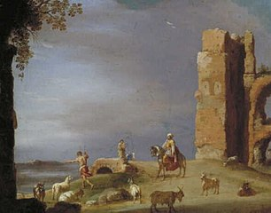Landscape with a Ruin