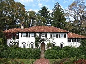 Commonwealth Avenue Historic District (Newton, Massachusetts) - Corner of Commonwealth Avenue and Hammond Street