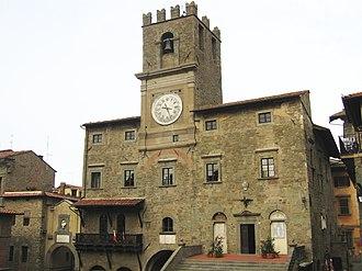 Cortona - The Palazzo Comunale.