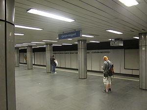 Corvin–negyed (Budapest Metro) - Image: Corvin negyed