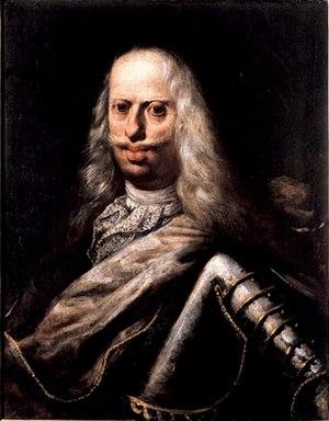 Grand Duchy of Tuscany - The Grand Duke Cosimo III in old age