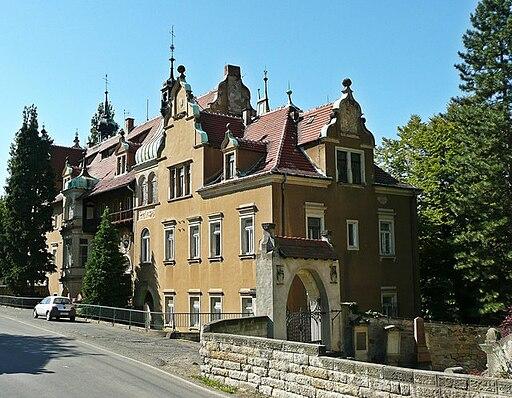 Cotta Blick zum Schloss geograph.org.uk 8957