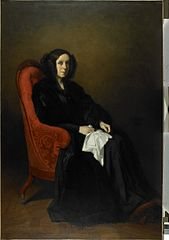 Portrait of Mrs. Poullain-Dumesnil