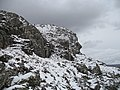 Crags below the summit, Sgùrr Bhuidhe - geograph.org.uk - 918295.jpg