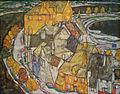Crescent of Houses II (Island Town) Egon Schiele 1915.jpg