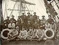 Crew of the four-masted bark VILLE DE MULHOUSE, Puget Sound port, Washington, ca 1904 (HESTER 290).jpeg