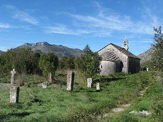 Church of St. Archangel Michael, Veličani Church in Popovo Polje, Bosnia and Herzegovina