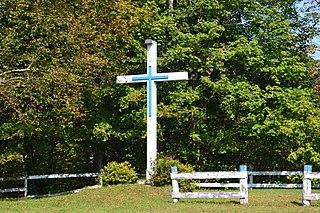 croix de chemin de la côte des Cascades